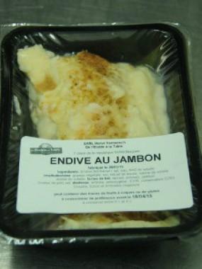 Endive au jambon