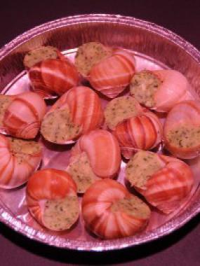 La douzaine d'escargots pur Beurre