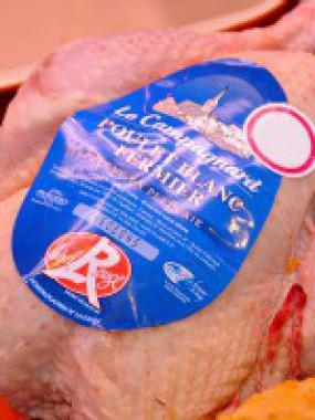 Poulet label rouge P.A.C.