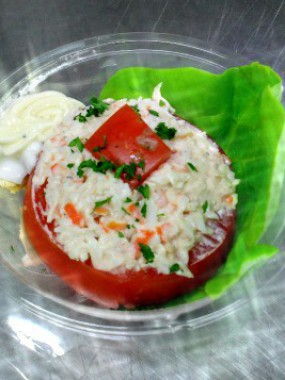 Tomate au Crabe